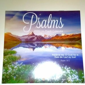 "Psalm's small 2020 Calendar ""Preserve me, O GOD;"